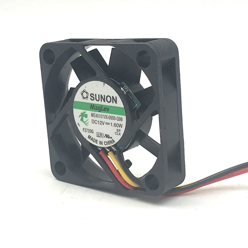 sunon ME40101VX-0000-G99 40mm DC12V 1.60W mini axial case cooling fan