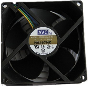 AVC DS09238B12HP-013  4PIN temperature controlled speed chassis fan