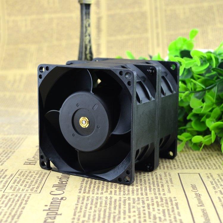 AVC DFTA0880Y2U 12V 7.2A car modification supercharged dual motor violence fan