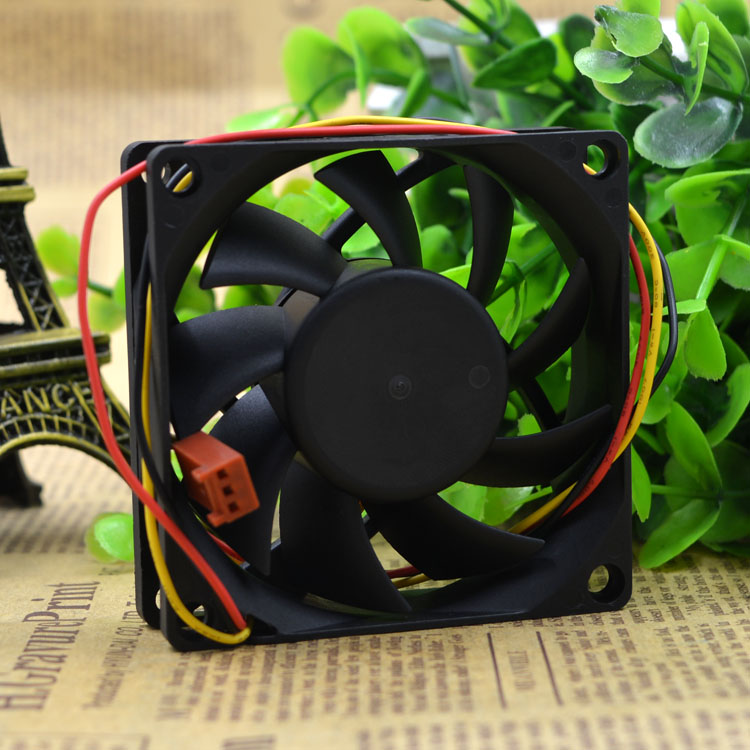 Bi-Sonic BS702012M  7CM silence 3 wire cooling fan