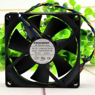 FOXCOON PV902512PSPF 0E 12V 0.40A 9CM 90*90*25 4 Wire Fan