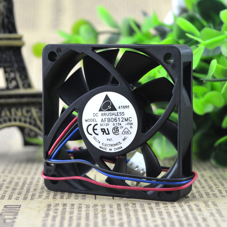 Delta AFB0612MC 0.17A DC12V three line cooling fan fan