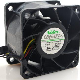 Nidec V60E12BS1A7-09A032 DC12V 2.45A 6CM 6038 60*60*38mm Ball Bearing Cooling Fan