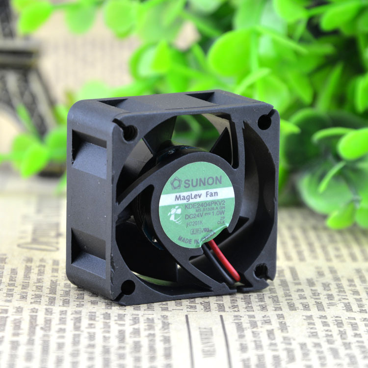 Sunon KDE2404PKV2 24V 0.8W 40 4CM axial case cooling fan