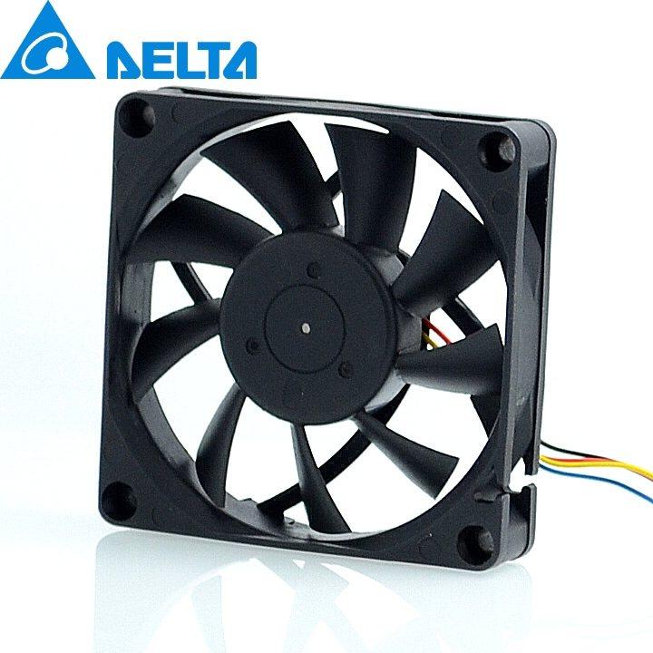 Delta AUB0712MB 12V 0.24A 7cm 4-pin PWM CPU cooling fan