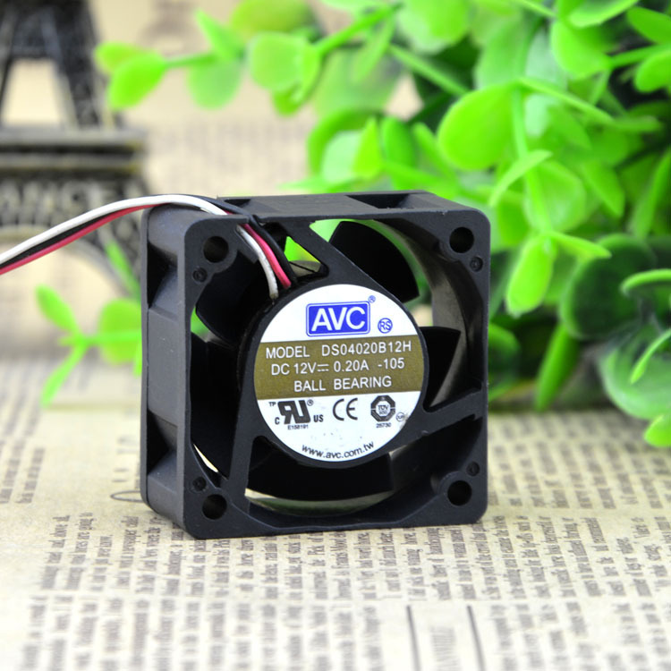 AVC DS040B12H 4cm 12V 0.A axial cooling fan