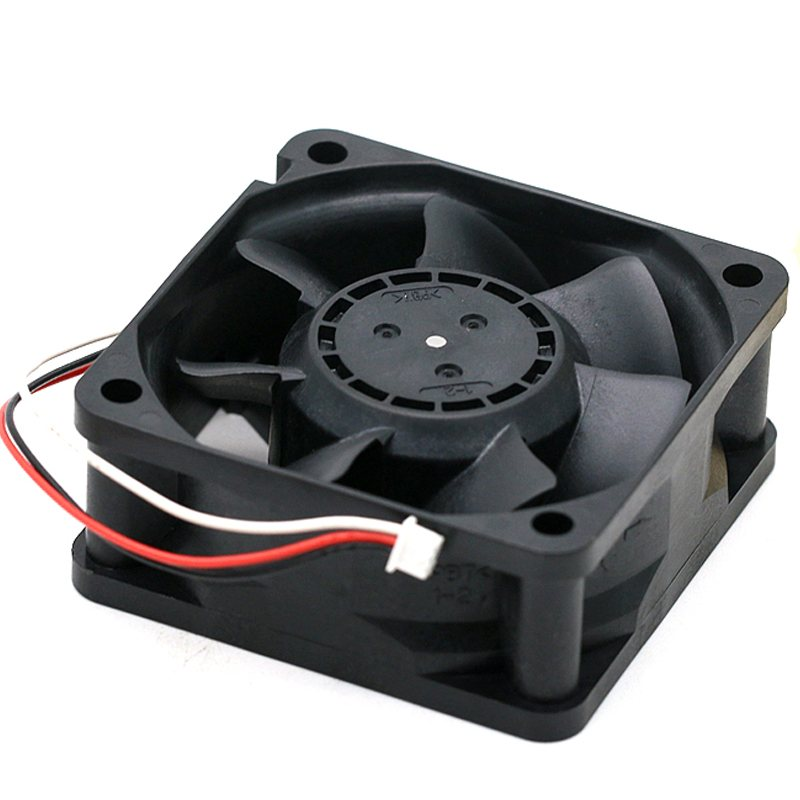 NMB 06025SS-12N-AT 23.3CFM 4700RPM 12V 0.24A 6cm dual ball cooling fan