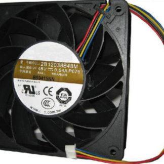 AVC 2B138B48M P076 DC 48V 0.54A computer Cooling Fans Server Square Fan