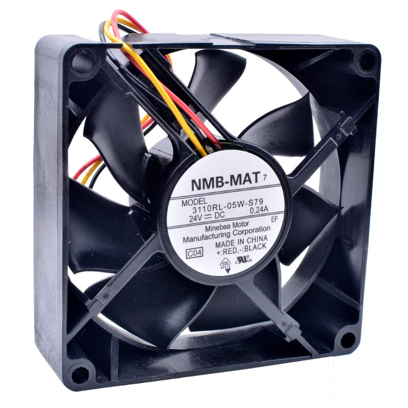 NMB 3110RL-05W-S79 DC24V 0.24A inverter industrial cooling fan