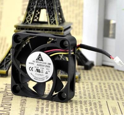 Delta ASB0412MA 12V 0.10A 4CM 3-lines radiating device fan