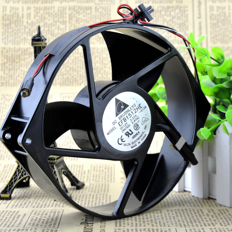 Delta EFB1512HEB 17238 170*150*38 12V DC BRUSHLESS cooling fan