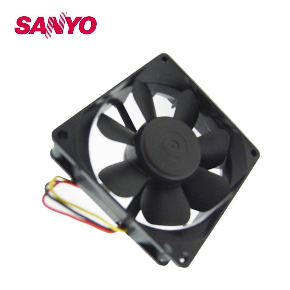 Sanyo 109R0824H402 24V instrumentation axial  inverter fan