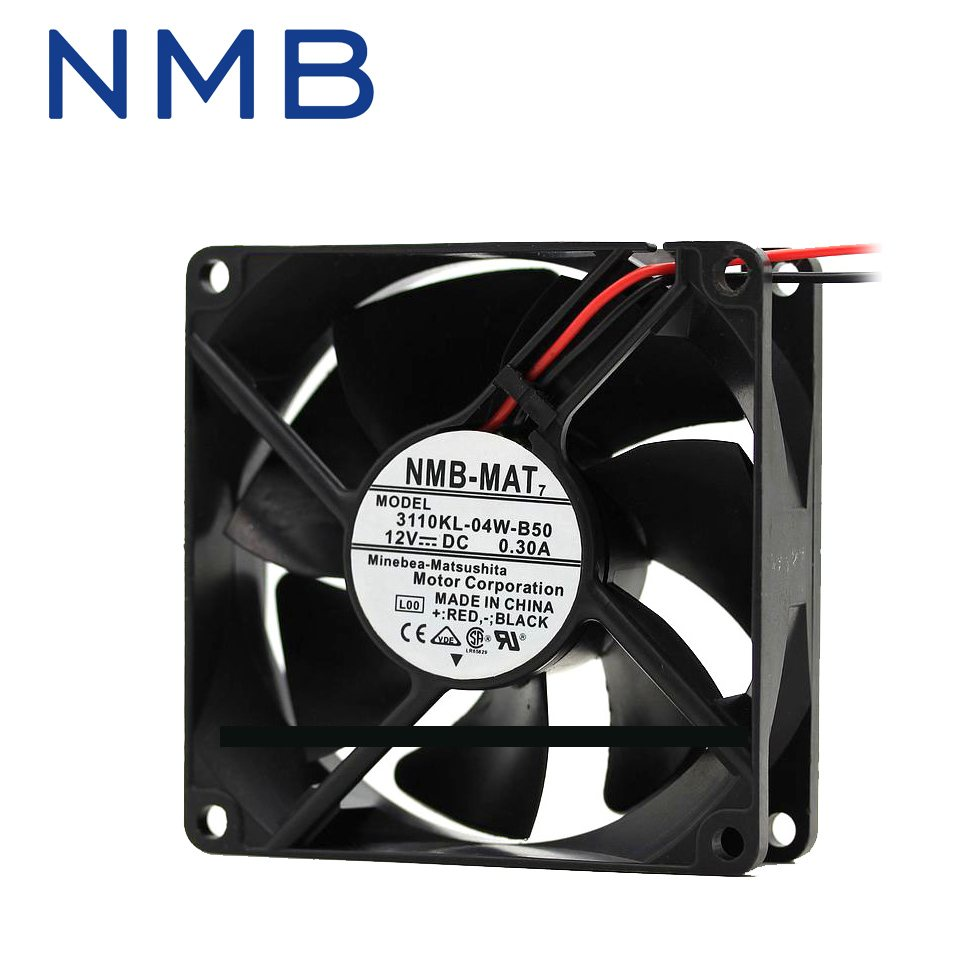 NMB 3110KL-04W-B50 DC12V  inverter cooling fan