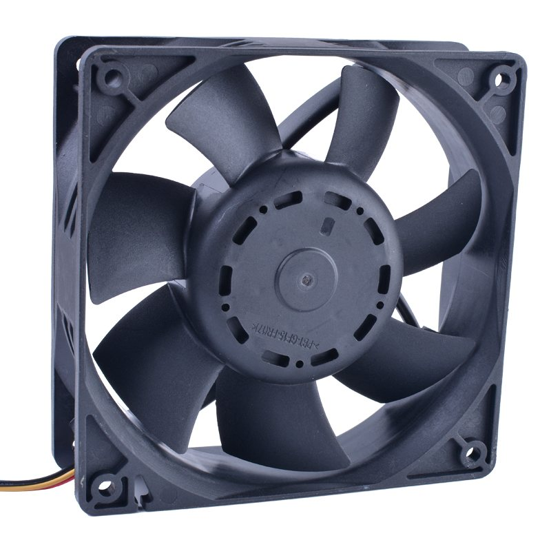 Delta AFB1248SHE 48V 0.40A 12cm 4-wire double ball server Cooling fan
