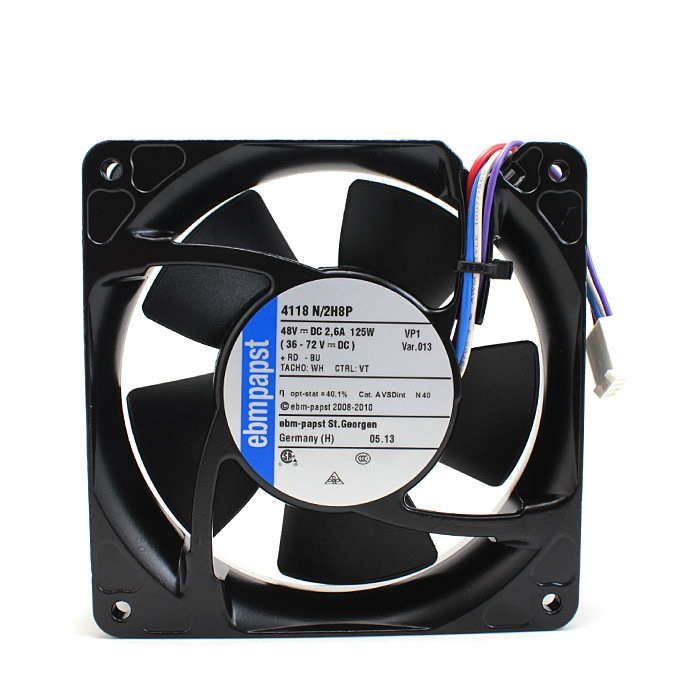 ebmpapst 4118N/2H8P  48V 2.6A high speed cooling fan