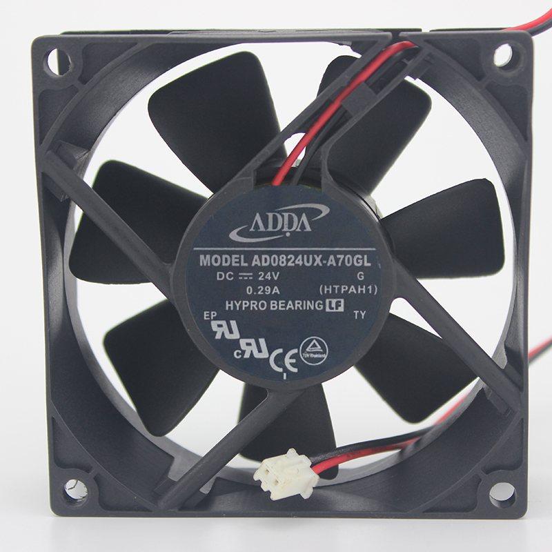 ADDA AD0824UX-A70GL 24V 0.29A 8CM  inverter cooling fan
