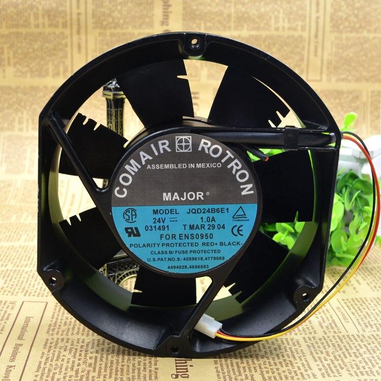 Comair Rotron JQD24B6E1 DC24V 1.0A 17cm temperature control cooling fan