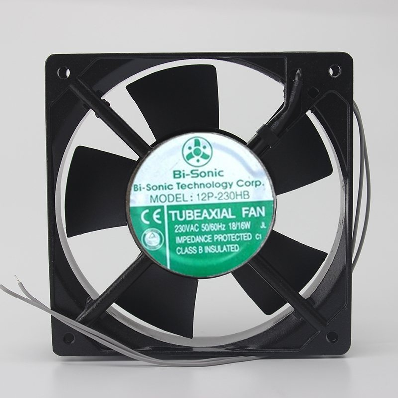 Bi-Sonic 12P-230HB 12025 230V cabinet chassis fan