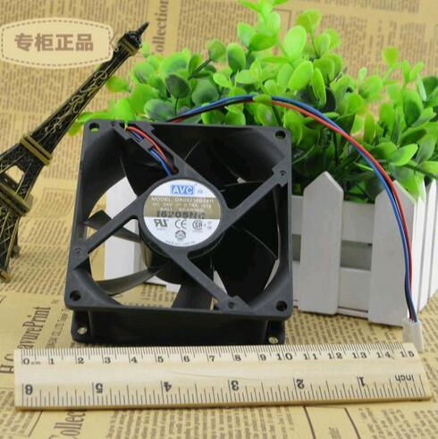 AVC DA09238B24H 24V 0.70A 3-wire double ball bearing industrial cooling fan