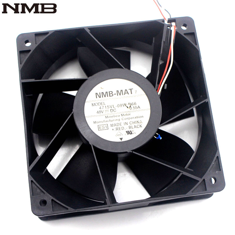 NMB 4715VL-09W-B66 DC48V 0.55A heatsink cooling fan