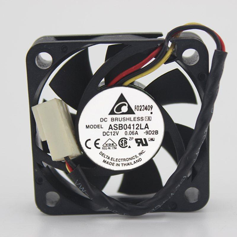 delta ASB0412LA 12V 0.06A 4CM 2-lines cooling fan