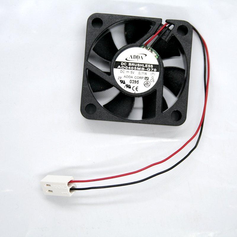 ADDA AD0405MB-G70 DC 5V 0.11A 0.4W 4800RPM ball bearing cooling fan