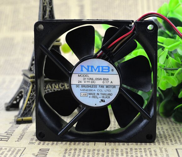 NMB 3110NL-05W-B58 24V 8CM  0.17A inverter cooling fan
