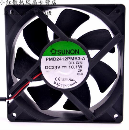 SUNON PMD2412PMB3-A 24V 10.1W 12CM 2 line inverter cooling fan