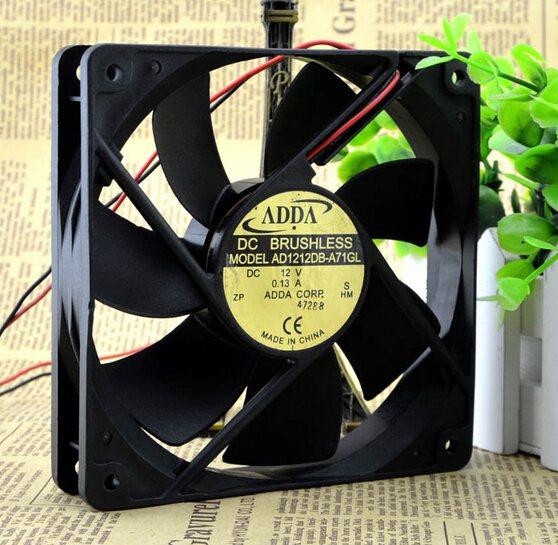 ADDA AD1212HB-A71GL 120*120*25 DC12V cooling fan