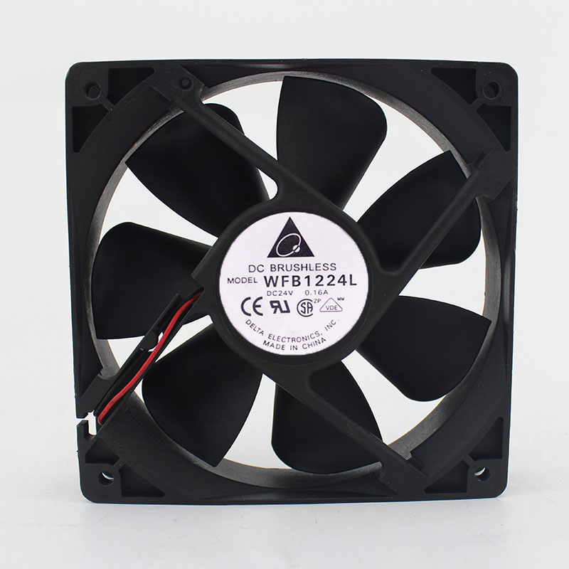 Delta WFB1224L 24V 0.16A Double ball mute inverter cooling fan