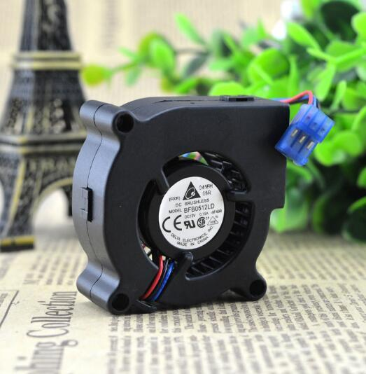 Delta BFB0512LD 50*50* 5CM 12V 0.15A 3-line Speed Blower Cooling Fan
