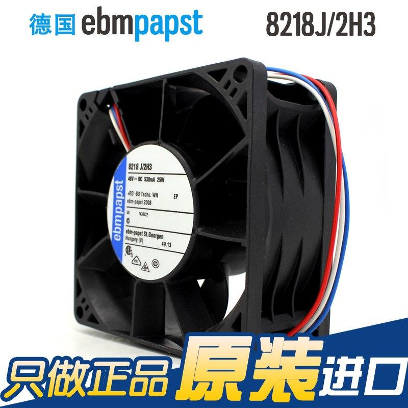 ebmpapst 8218J/2H3 48V 0.53A server DC cooling fan