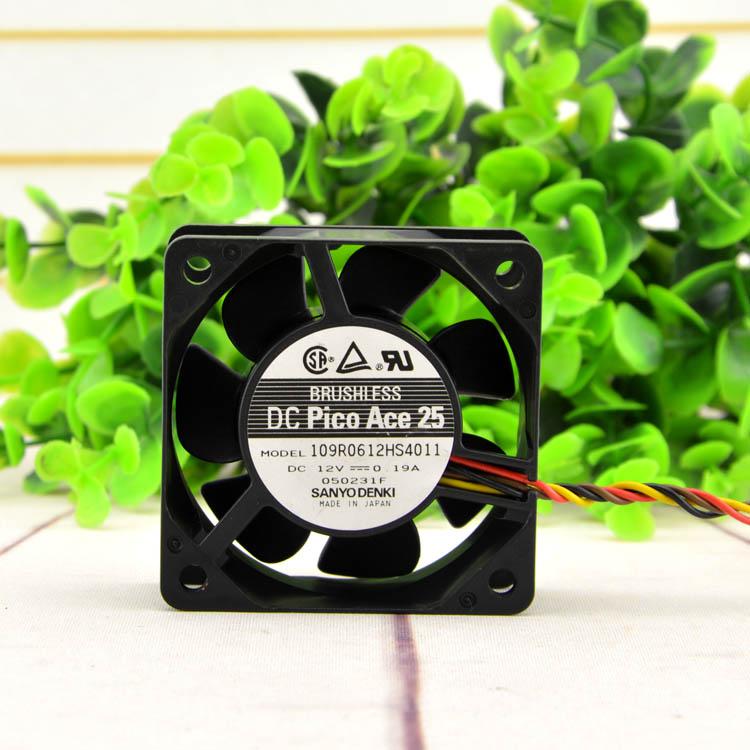 sanyo 109R0612HS4011 6cm 12V 0.19A power ultra-quiet fan