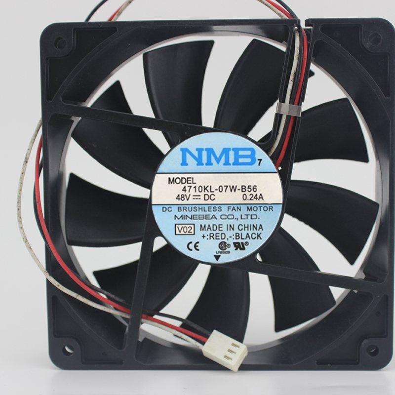 NMB 4710KL-07W-B56 12CM 48V 0.24A Industrial cooling fan