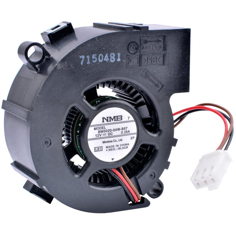 NMB BM5020-04W-B57 12V 0.26A centrifugal turbo blower projector cooling fan