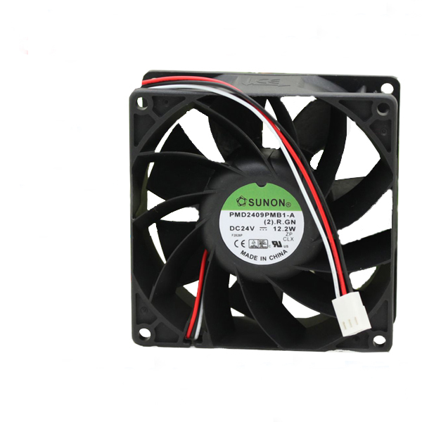SUNON PMD2409PMB1-A  12.2W DC 24V 3-wire converter Cooling fan