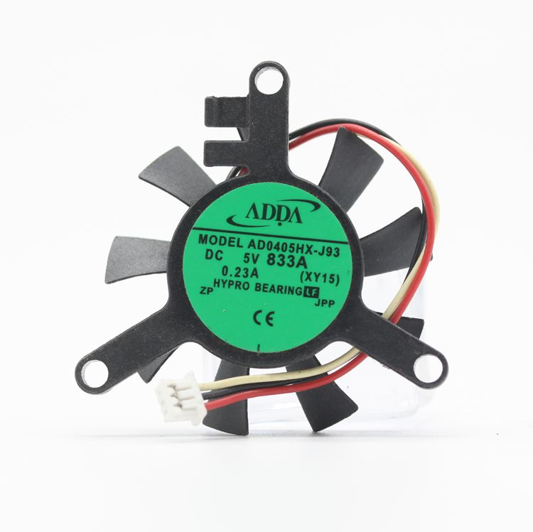 ADDA AD0405HX-J93 DC 5V 0.23A 3-wires cooling fan