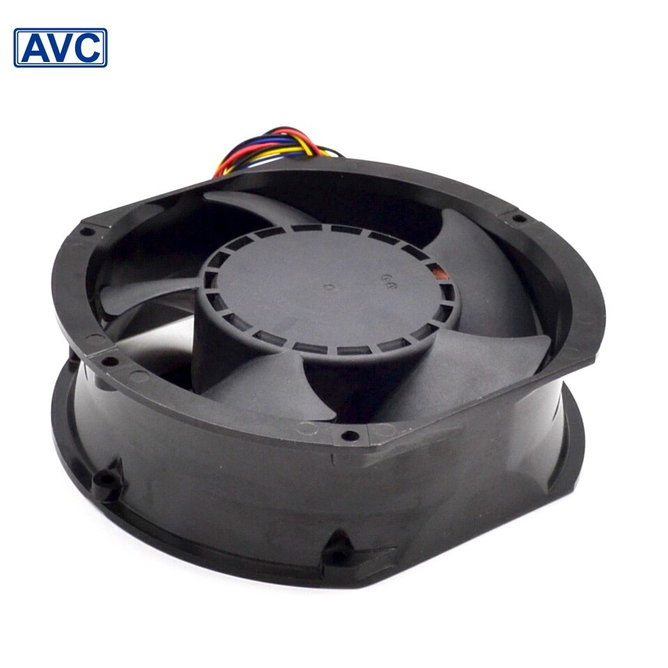 AVC  DATA1551B8M 17CM 48V 0.98A IPC wind Full Metal fan