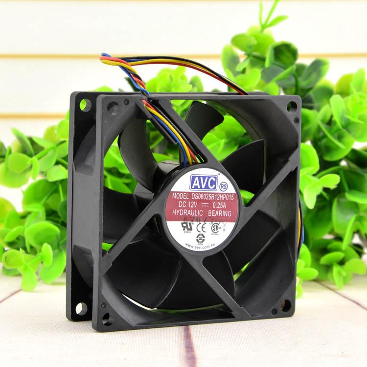 AVC C8025R12HB  DC12V 0.25A cooling fan