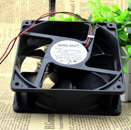 NMB 4715KL-04W-B30 DC12V 0.72A 2-lines cooling  fan