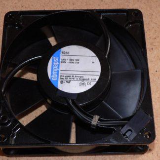 Ebmpapst 5958 230VAC 50/60Hz 18/17W  2-Connector Axial Fan