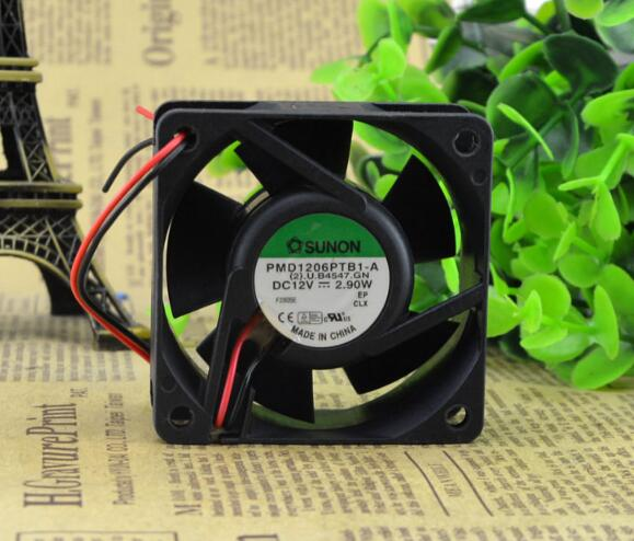SUNON PMD16PTB1-A 60*60*25 12V 3.9W 6CM 2wire cooling fan