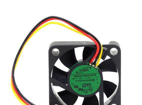 ADDA AD0412HX-G76 4CM 12V 0.10A speed mute cooling fan