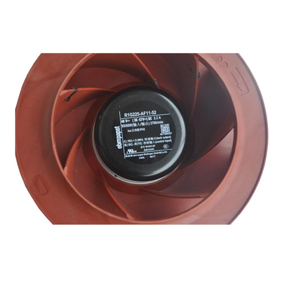 ebmpapst  R1G225-AF11-52 225mm 48V 95W AC Centrifugal cooling fan