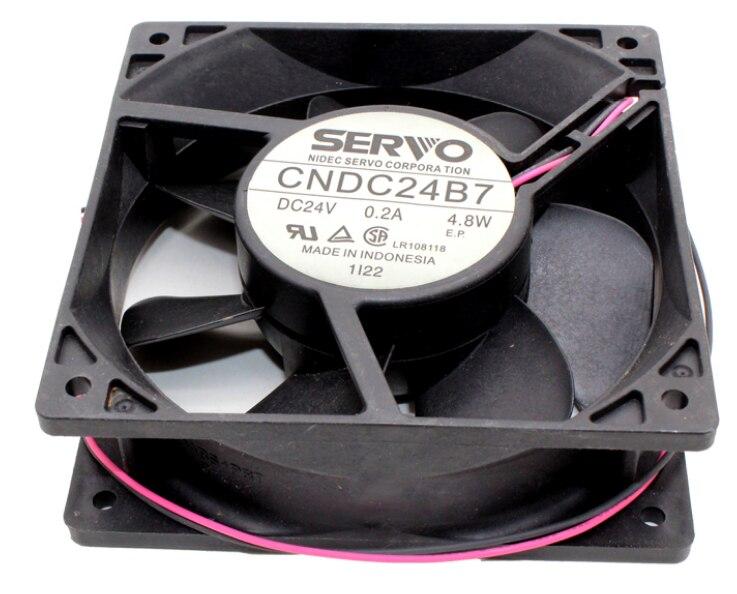 SERVO CNDC24B7 DC24V 0.2A 4.8W cooling fan