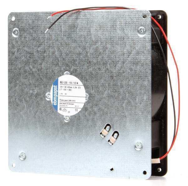 Ebm-Papst  RG125-19/12N 12VDC 7″ Square Flatpack Axial Fan