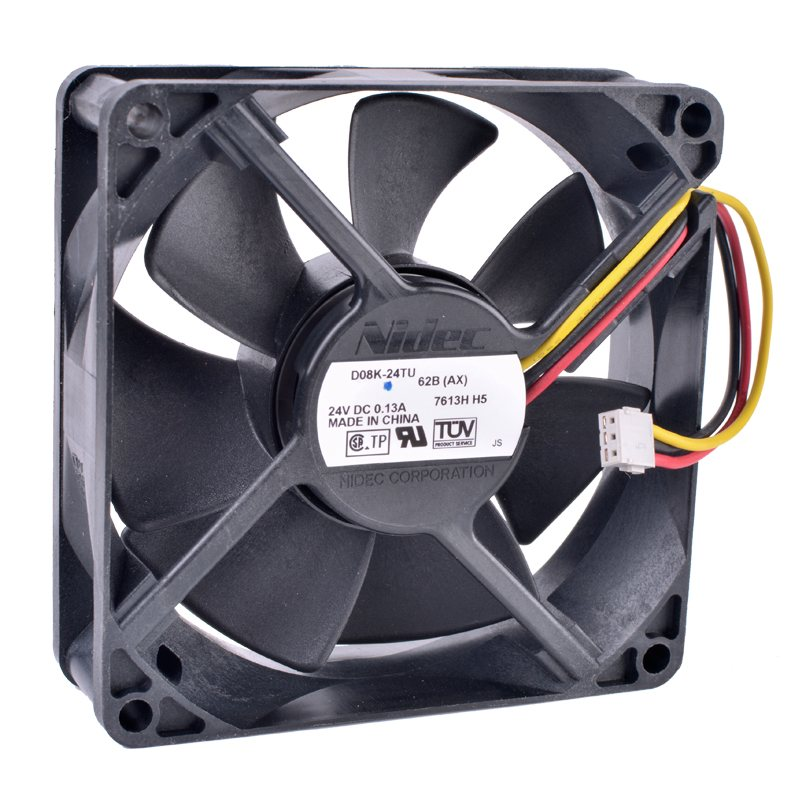 D08K-24TU 62B(AX) 8cm 24V 0.13A Inverter server cooling fan