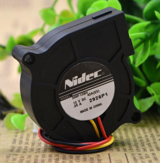 Nidec D05F-12BH 12V 0.25A three line centrifugal turbo fan