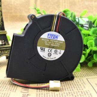 AVC F9733B12MT 12V 0.95A 4-wire blower fan