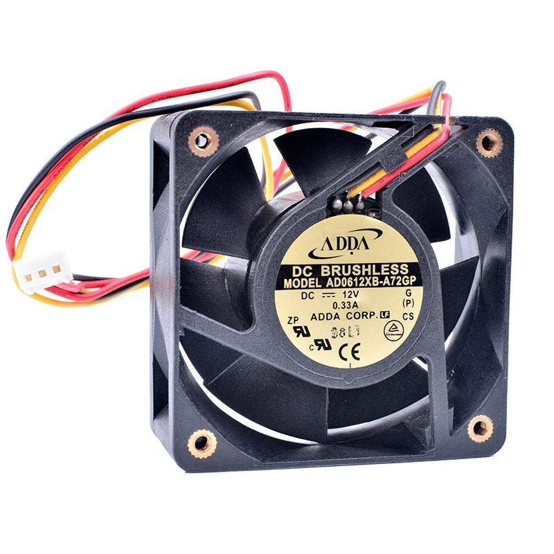 ADDA AD0612XB-A72GP DC12V 0.33A DC Brushless fan